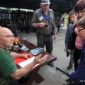 Piknik wędkarski w Skokach